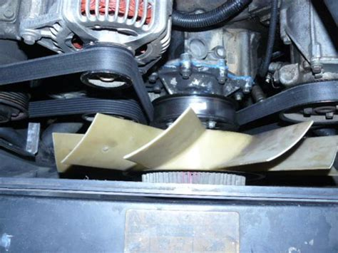 new c32a swap overheating and coolant leak page 2 fan clutch replacement land rover forums land rover