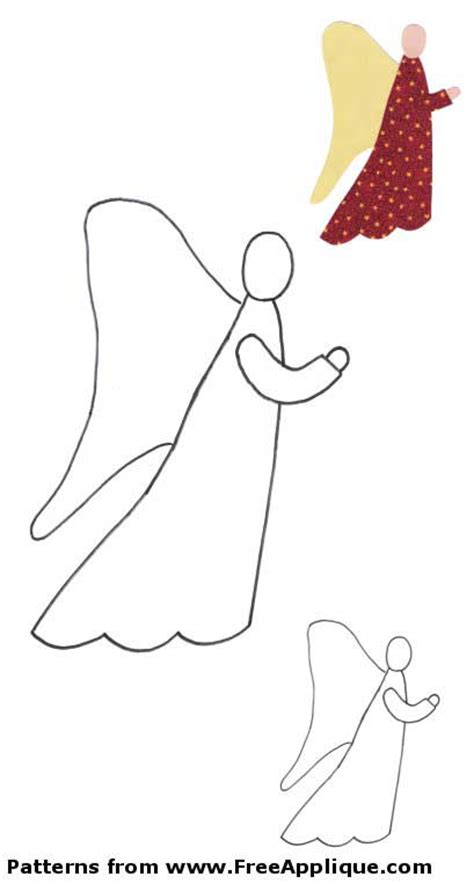 pattern for christmas angel christmas patterns for applique angels christmas trees