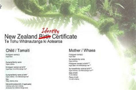 Certificate Records Nz Mps Want Birth Certificates Based On Feelings Not Biology Family Nz
