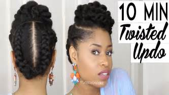 Galerry updo hairstyles for natural black hair