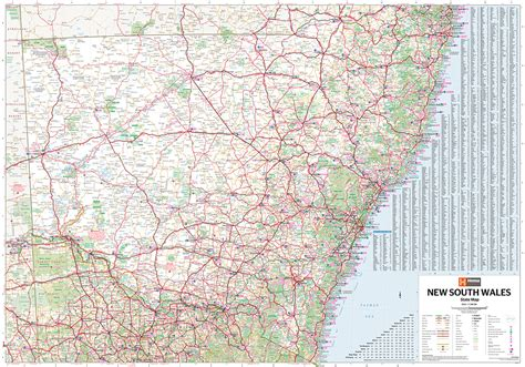 free boating maps nsw new south wales state map the tasmanian map centre
