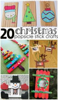 Good Christmas Crafts For Kids - christmas popsicle stick crafts for kids to make crafty morning