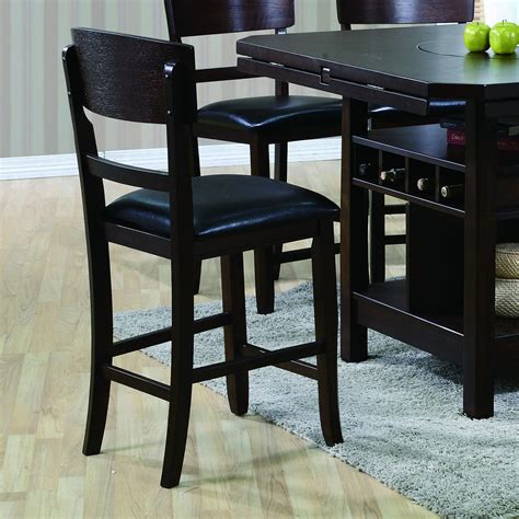 Crown Royal Bar Stools by Crown Counter Height Chair With Upholstered