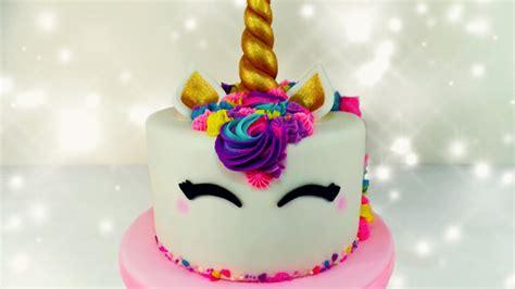tutorial de decoraci n de tortas c mo hacer una torta torta de unicornio unicorn cake tutorial how to