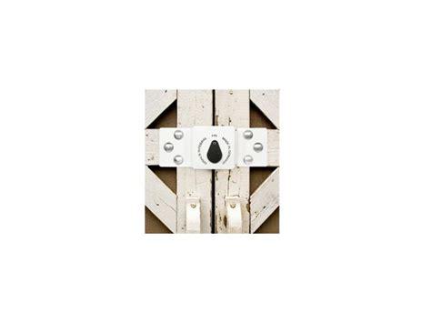 porte cadenas renfort pour fourgon et porte de garage