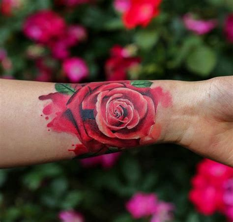 rose wrist tattoos tumblr 100 of most beautiful floral tattoos ideas mybodiart