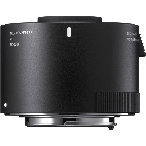 sigma tc 2001 2x teleconverter for nikon f 870306 b h photo
