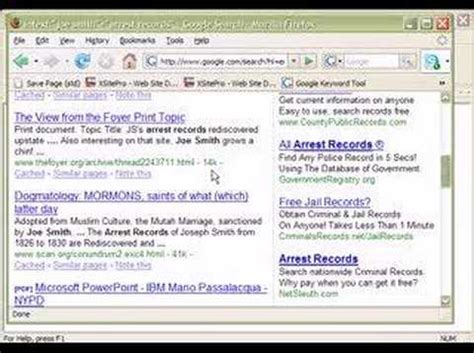 How To Find Free Arrest Records Free Criminal Records Search For Criminal Records