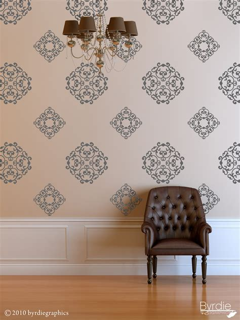 wall sticker wallpaper classic wall pattern vinyl wall decal classic medallions 24