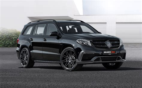 Brabus Mercedes by Brabus 850 Xl Widestar Based On The Mercedes Gls63 Gtc