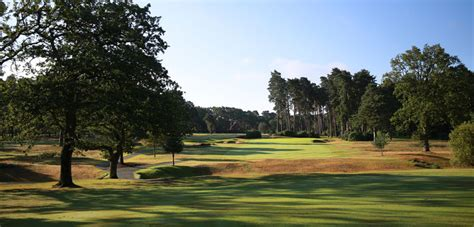 hill golf club course photos west hill golf club woking surrey