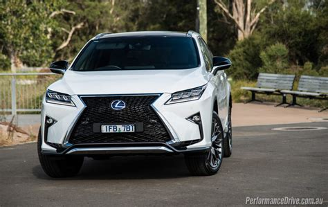 2016 lexus rx 450h f sport review performancedrive