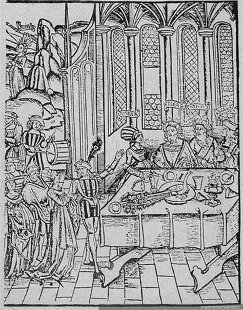 banquete medieval banquete medieval memoria chilena biblioteca nacional