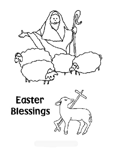 coloring page easter religious free coloring pages christian easter coloring pages