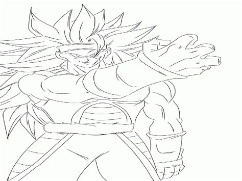 dragon ball z coloring pages bardock bardock coloring pages coloring home
