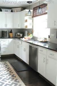 Laminate Countertops At Lowes - budget friendly modern white kitchen renovation home tour making lemonade