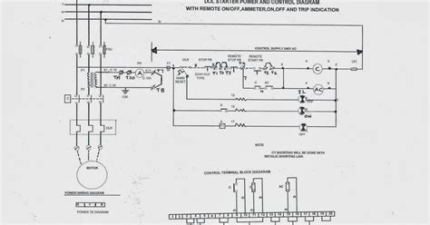 dol starter diagram and gas electrical and instrumentation engineering