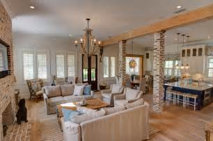 Resort Home Design Interior by Private Vacation Home Beach Style Family Room Other