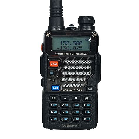 Baofeng Walkie Talkie 2 Way Radio 8w 128ch Uhf Vhf Uv T8 Hitam baofeng uv 5re plus walkie talkie dual band two way radio pofung uv 5re 5w 128ch uhf vhf fm vox