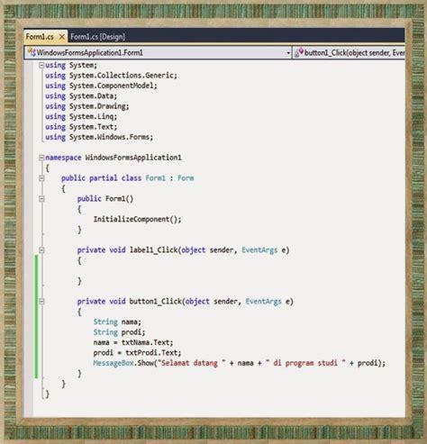 String Program - teknik informatika character dan string