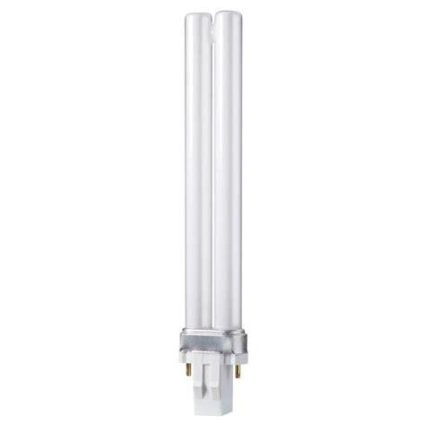 Lu Philips Pl C 13 Watt philips 13 watt soft white pl s 2 pin gx23 energy saver