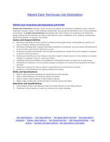Dialysis Description by Patient Care Technician Resume Getessay Biz