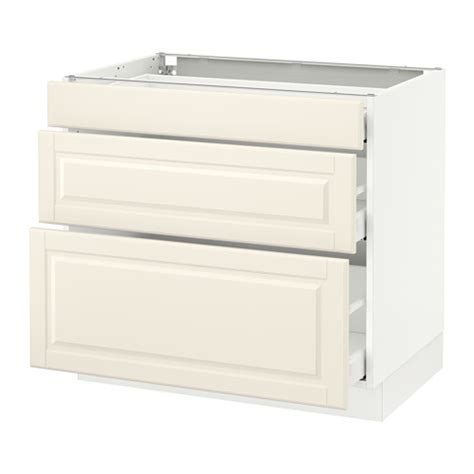Sektion Base Cabinet With 3 Drawers White Grimsl 246 V Off White 18x15x30 Quot Ikea | sektion base cabinet with 3 drawers white ma bodbyn