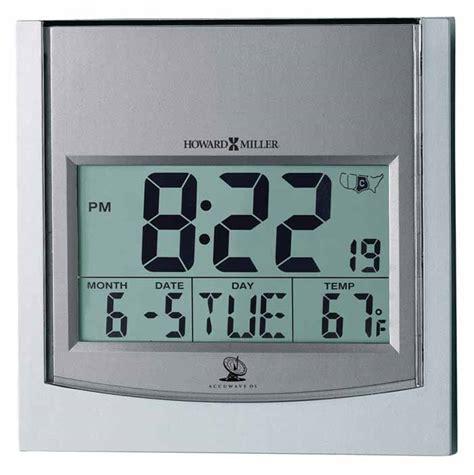 howard miller 625 235 techtime i atomic alarm clock the clock depot