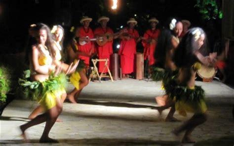 tahitian dancing shows  bora bora resorts