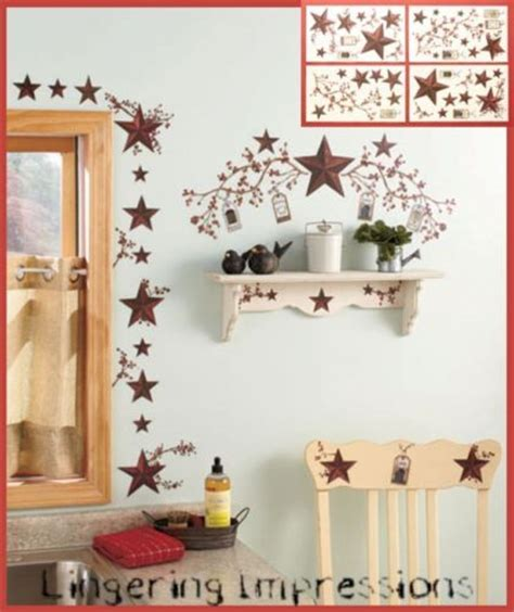new stars berries wall decals country kitchen stickers new stars berries wall decals country kitchen stickers