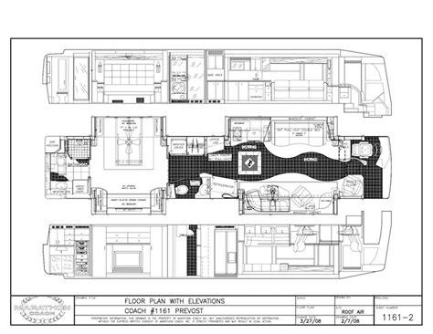 prevost rv floor plans unique sold 1997 prevost country 100 prevost floor plans colors thor a c e floor plans