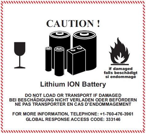 Aufkleber Gefahrgut Lithium Batterien Kostenlos by De Hilfe Bestellungen Von Elektro Und Elektronik