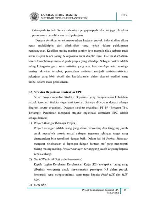 format laporan aktivitas laporan kerja praktek