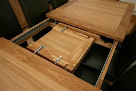 diy expandable dining table plans woodworking projects