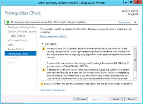 active directory activedirectory domain service wizard