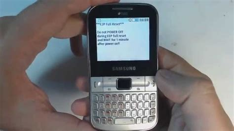 Samsung Qwerty Phone Seri Gt C3222 samsung ch t 322 c3222 factory reset