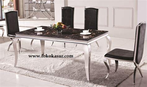 Meja Makan Marble meja makan kursi makan dining table meja makan minimalis