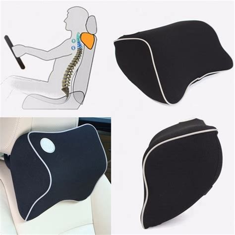 Car Seat Headrest Neck Cushion Pillow by Car Seat Headrest Memory Foam Cotton Neck Support Rest