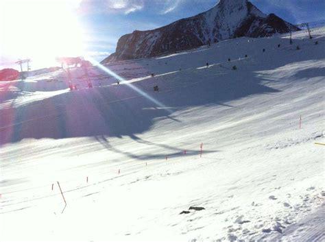 haus am gletscher dietmar war zum saisonauftakt am gletscher kitzsteinhorn