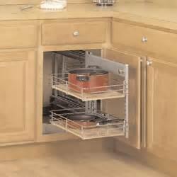 Blind Kitchen Cabinet Organizer Blind Corner Cabinets Blind Corner Organizers Woodworker S Hardware