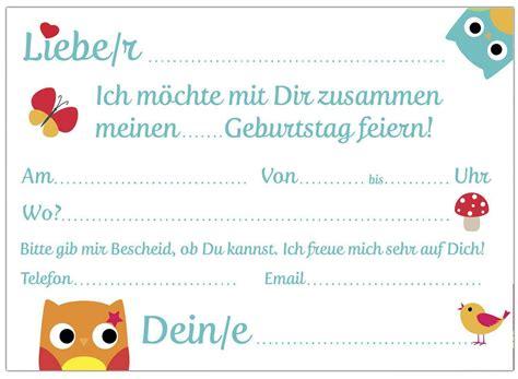 einladungskarten selber drucken einladungskarten kindergeburtstag kostenlos ausdrucken