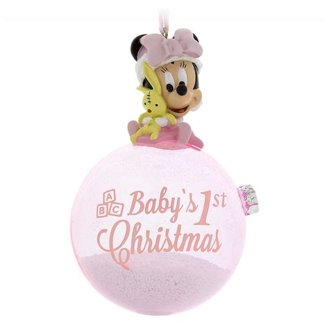 your wdw store disney figure on a ball ornament minnie