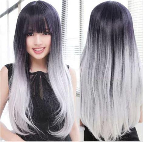 tintes de cabello color gris cabello gris y negro beautiful hair pinterest