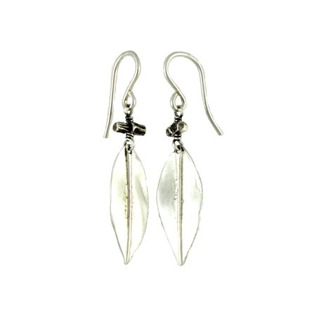 accent earrings willow twig accent earrings bija bijoux