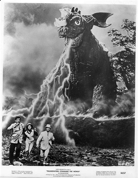 Still from FRANKENSTEIN CONQUERS THE WORLD (1965) | TV