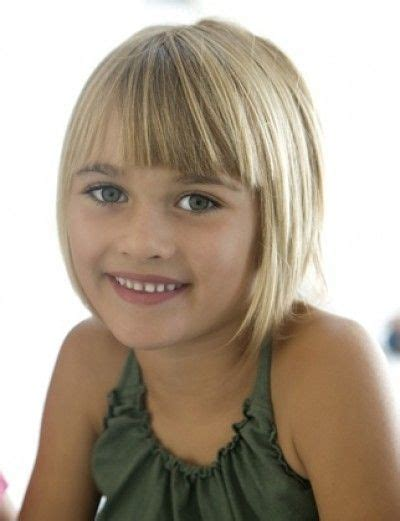 haircut for 8year old girls w bangs carr 233 s cosm 233 tique and filles on pinterest