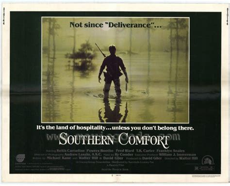 southern comfort movie online southern comfort movie poster 22x28 half sheet ned dowd