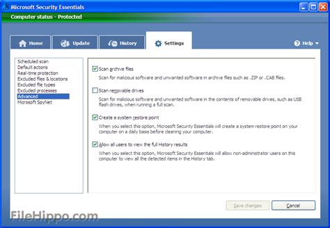 security essentials 4 10 209 vista 64 bit