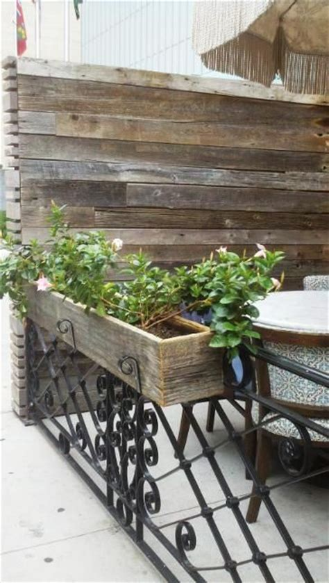 This House Privacy Planter by Soho House Outdoor Privacy Screen And Planters Made With