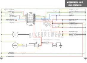 motogadget m unit wiring bikebrewers com